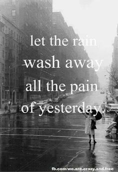 Wash the pain away ..