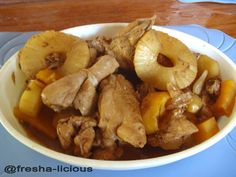myFresha-licious: Special Chicken Adobo with Pineapple | more recipes at http://www.myfresha-licious.com/