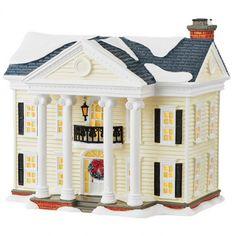 department 56 christmas vacation snow village boss shirleys house 4049650