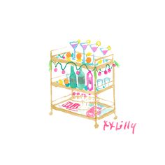 Enjoy Yourself. Lily Pulitzer Painting, Lilly Pulitzer Prints, Good Vibes Art, Happy Art, Watercolour Tutorials, Watercolor Illustration, Watercolor Paintings, Creative Inspiration, Cool Art