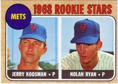 Nolan Ryan Rookie Card. The best card I own.