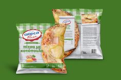 Greca Handmade Chicken Pizza on Packaging of the World - Creative Package Design Gallery