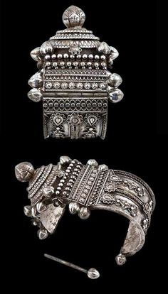 India | Orissan Silver Bracelet from ca. early 20th century