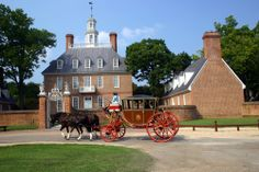 Governor's Palace (1722) in Williamsburg, Virginia