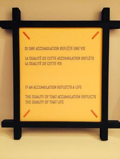 Lawrence Weiner-Collecting / accumulating