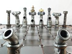 Pipe Chess Set
