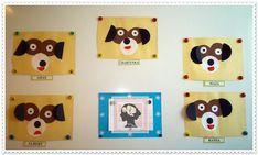 Boberkowy World : Pies i kot- praca plastyczna. Origami płaskie z koła