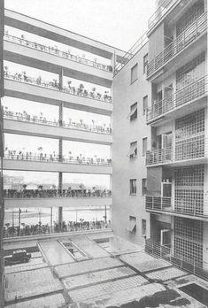 GIUSEPPE TERRAGNI. Arquitectura. Viviendas. Vivienda colectiva