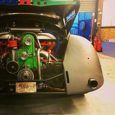 Supercharged Subaru Powered VW Drag Racer .