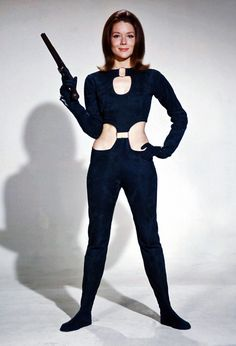Emma Peel is a fictional spy played by Diana Rigg in the British 1960s adventure…
