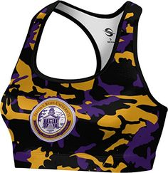 ProSphere Womens Alcorn State University Camo Sports Bra XSmall * You can find out more details at the link of the image.
