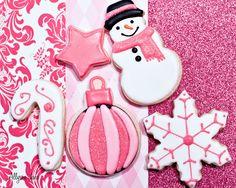 Christmas Pink Medley