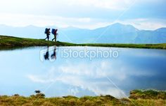 people traveling Royalty Free Stock Photo