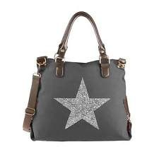 DAMEN STERN XXL SHOPPER Strass SCHULTER-HAND-TASCHE Canvas Stofftasche Hobo-Bag: EUR 29,95End Date: 18. Apr. 19:12Buy It Now for only: US…