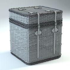 basket new england 3d max