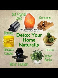 Detox your home naturally