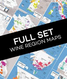 Complete Collection Wine Appellation Maps