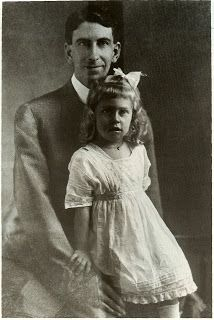 Mississippi Library Commission Reference Blog: Eudora Welty. Eudora and her father, Christian Webb Welty.
