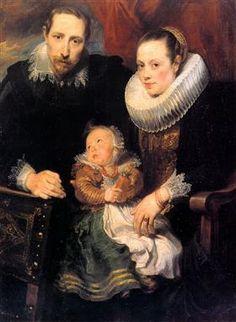 Family Portrait - Anthony van Dyck