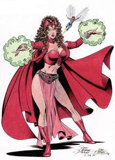 Scarlet Witch Gypsy | gypsy scarletwitch_wasp_perez