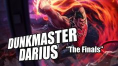 Dunkmaster Darius #gaming #leagueoflegends #basketball