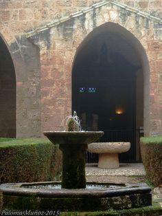 Claustro del Monasterio de Piedra. Cloister of the Monasterio de Piedra