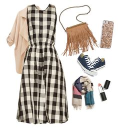 """""""Casual daily wear for hijaber"""" by arianipermana on Polyvore featuring Rochas, Patchington, Converse, A Peace Treaty, Case-Mate, Sigma Beauty, women's clothing, women's fashion, women and female"""