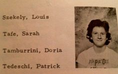 Louis C.K. - Junior High School Yearbook Photo
