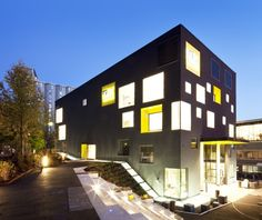 Westerdals School of Communication building in Oslo, Norway designed by Kristin Jarmund Architects.