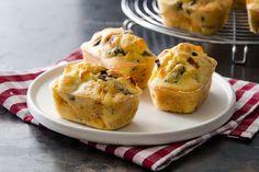 Plumcake salati con prosciutto e olive ricetta