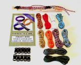 I Need this  Parachute Cord Supply Ultimate Survival Bracelet Mini Jig Kit Paracord, Buckles Book /
