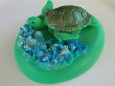 Sea Turtle Soap Bar Stocking stuffer gifts for by BubbleCitySoap
