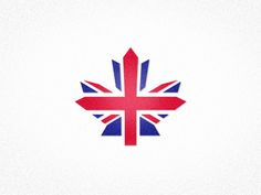 Maple Leaf + Union Jack = Another reason to move to Canada. (By Andrew Power)