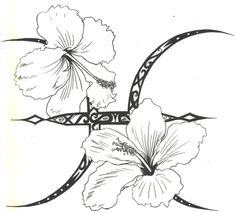 Image from http://fc07.deviantart.net/fs30/f/2008/146/8/6/Pisces_Hibiscus_Tattoo_INK_by_D_Angeline.jpg.