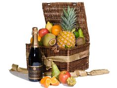 france Gift Baskets - Sparkling Fruit Basket Large