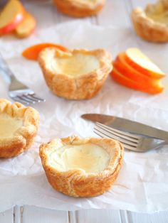 These delightful egg tarts are made of cheesy and creamy egg whites custard and nestled into a light, flaky and buttery puff pastry crusts. Creamy Eggs, Puff Pastry Dough, Cream Cheese Eggs, Egg Tart, Oven Racks, Crusts, Vegetarian Cheese, Pastries, Tarts