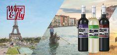 Wine & Fly, una colección de vinos para viajar por el mundo