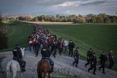How a Record Number of Migrants Made Their Way to Europe Staggering numbers of refugees have died in European Countries, Mediterranean Sea, Persecution, Oppression, Slovenia, Republic Of The Congo, Ny Times, Continents, Uganda
