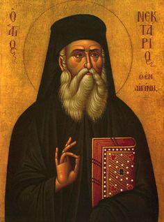 Nektarios the Wonderworker, Bishop of Pentapolis                   Send an Iconogram       November 09
