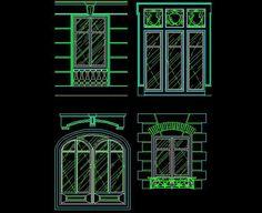 Western Window CAD drawings,Free Autocad Drawing, Cad Blocks