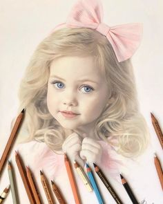 Russian Artist Creates Amazing Hyperrealistic Portraits That Seem To Jump Off The Page (30 Pics) Colored Pencil Portrait, Colored Pencil Artwork, Color Pencil Art, Colored Pencils, Art Drawings Beautiful, Cool Art Drawings, Art Drawings Sketches, Horse Drawings, Drawing Art