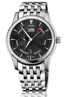 Oris Artelier Black Dial Stainless Steel Mens Watch 745-7666-4054MB. Product details http://astore.amazon.com/usxproducts-20/detail/B00F4VH6GQ