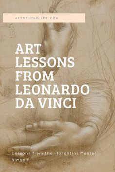 Art lessons from Leonardo da Vinci Art lessons from the Florentine master himself! Learn some valuable lessons from da Vinci and learn about his treatise on painting # Drawing Lessons, Painting Lessons, Art Lessons, Painting & Drawing, Drawing Tips, Matte Painting, Oil Painting Techniques, Art Techniques, Learn Art