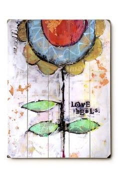 """Love Heals"" by Cindy Wunsch (Studio Be)"
