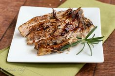 Brown Sugar & Balsamic Glazed Pork by daintychef, via Flickr