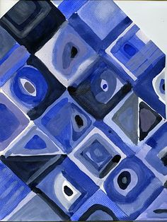 that artist woman: Using Color Cells - In the style of Chuck Close value painting Value Painting, Painting Lessons, Chuck Close Art, Elements Of Art Color, Art Doodle, Monochromatic Paintings, 7th Grade Art, Elements And Principles, Ecole Art