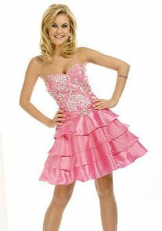 Taffeta A line Sweetheart Natural Waist With Beading Short Length Evening Gowns Pink Party Dresses, Pink Dress, Pink Evening Dress, Evening Dresses, Cheap Wedding Dress, Wedding Dresses, Short Cocktail Dress, Cocktail Dresses, Feminine Dress