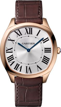 264297a1263 Drive de Cartier Extra-Flat watch Pink gold