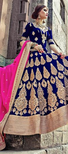 156764: ARE YOU A HIGH MAINTAINED BRIDE? Stay one because you're worth it! Check out this designer wedding #Lehenga from IWS.  #Bridalwear #bridetobe #weddingcouture #Sale #Indianfashion #indianwedding #forher #onlineshopping #Weddingtheme #sale #Valentinesday