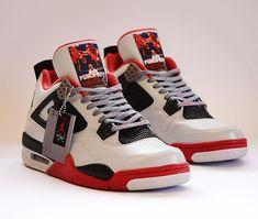 NES x Air Jordan 4 🔥👀 How many y'all had one as a kid? Jordan 4, Jordan Retro, Baskets, Nintendo, 8 Bits, High Top Sneakers, Sneakers Nike, Creative Shoes, Bros